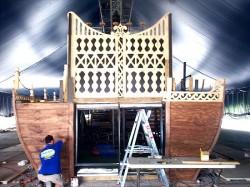 Pirates Set Construction