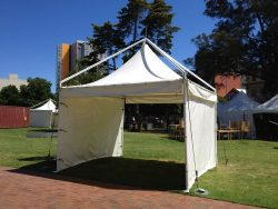 4 x 4 Prestige Festival Tent with walls