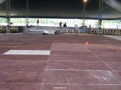 Subaru event flooring