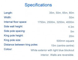 Majestic Specifications