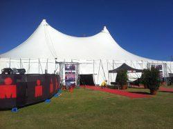Ironman tent