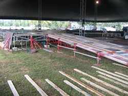 Subaru Product Launch Stage Construction