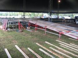 Subaru Launch Feb 05 - Stage Construction
