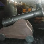 Pirate cannon prop