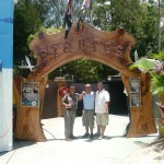 Pirates entrance