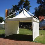 4 x 4 Prestige Festival Tent with walls
