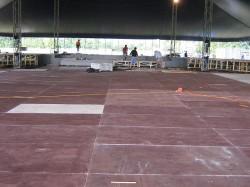 Subaru event flooring