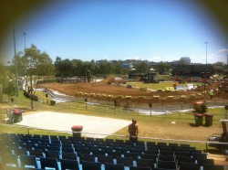 Grandstand Seating for Motorcross Event