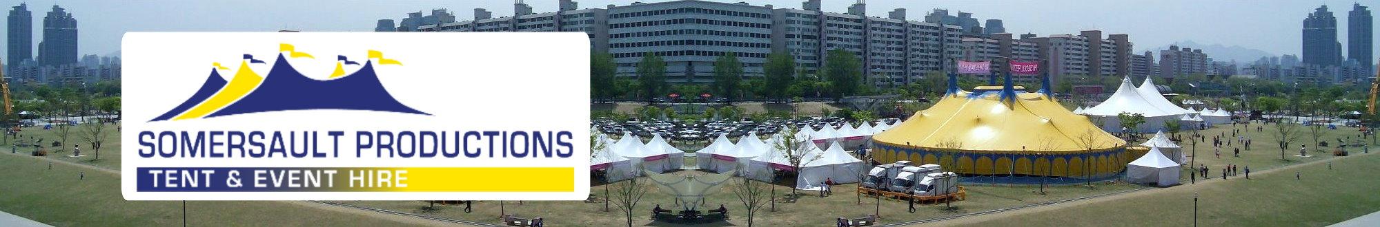 Seoul tents
