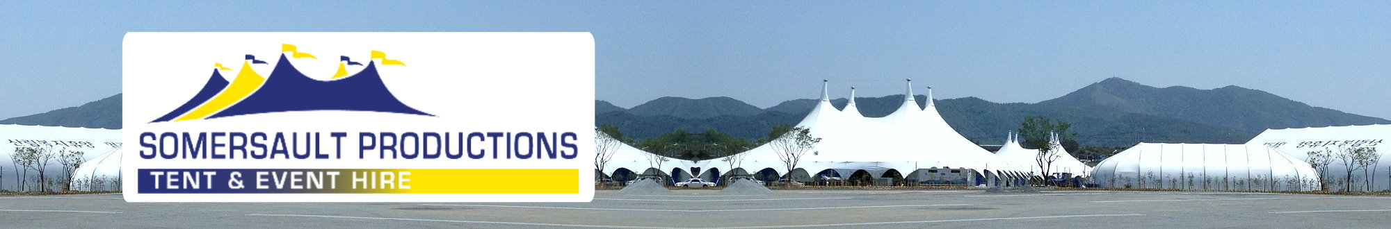 Tents in Korea