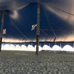 Inside Somersault Marquee at the Airshow